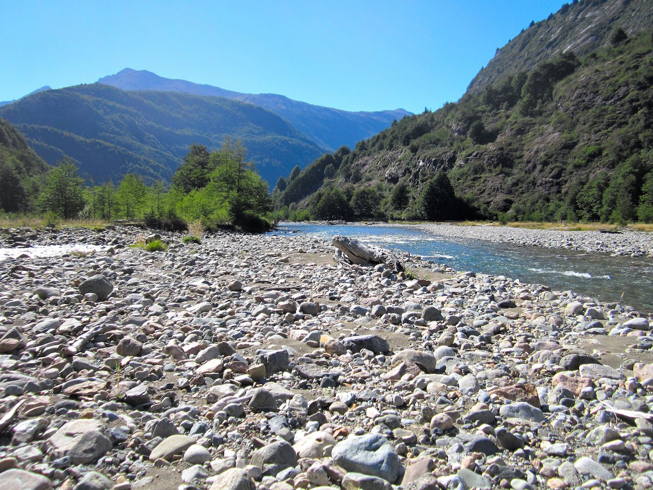 Ríos de la patagonia Chilena